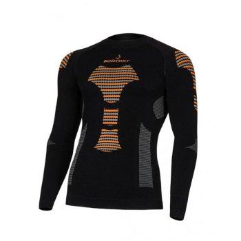 Термокомплект BODYDRY Bionic мужское термобелье комплект 2021 black/orange