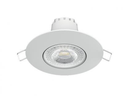 Світильник Гаусса Цілий. Білий, 6W,90х90х56, Ø65мм,500 Lm LED 2700K