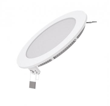 Вбудований світильник Гаусса ультратонкий круглий IP20 9W, 145х22, Ø130, 4100K 660лм 1/20