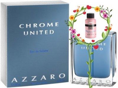 Мужская парфюмерия Туалетная вода Azzaro Chrome United man edt 50ml (3351500957705)