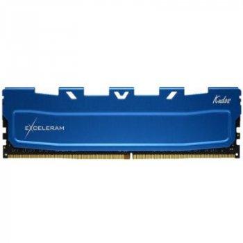 Модуль памяти для компьютера DDR4 16GB 3000 MHz Blue Kudos eXceleram (EKBLUE4163021A)