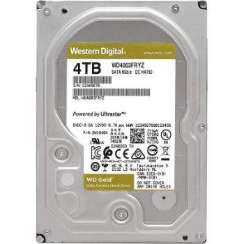 """Жесткий диск 3.5"""" 4TB WD (WD4003FRYZ)"""