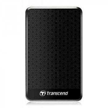 "Внешний жесткий диск 2.5"" 1TB Transcend (TS1TSJ25A3K)"