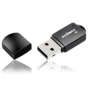 Беспроводной адаптер Edimax EW-7811UTC (AC600, mini)