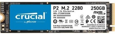 SSD-накопичувач MICRON M. 2 2280 250GB (CT250P2SSD8)
