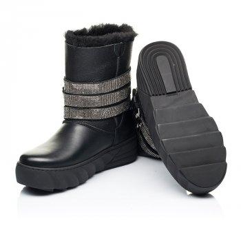 Зимние сапогии на меху Woopy Fashion черный 7185