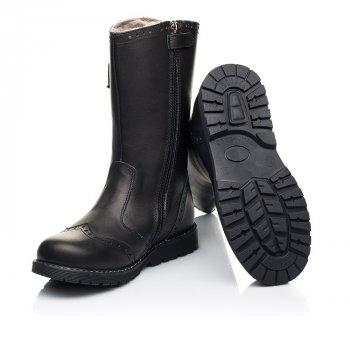Зимние сапоги на меху Woopy Orthopedic черный 7157