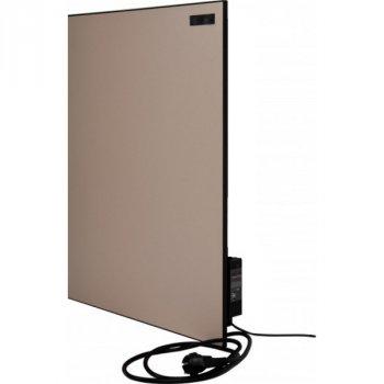 Керамічний обігрівач Ультратонкий Кам-Ін 950 Вт 20 м2 Інфрачервоний настінний Бежевий (950BG)