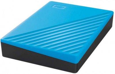 """Зовнішній жорсткий диск 2.5"""" 4TB Western Digital (WDBPKJ0040BBL-WESN)"""