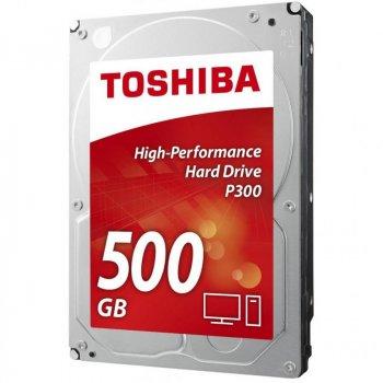 """Жорсткий диск 3.5"""" 500Gb TOSHIBA (HDWD105UZSVA)"""