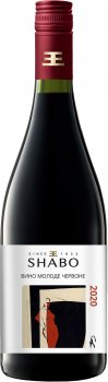 Вино Shabo молоде сухе червоне 0.75 л 13.4% (4820070400045)