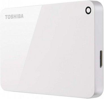 """Зовнішній жорсткий диск 2.5"""" 1TB TOSHIBA (HDTC910EW3AA)"""
