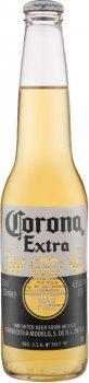 Упаковка пива Corona Extra світле пастеризоване 4.5% 0.33 л х 6 шт. (7501064199851)