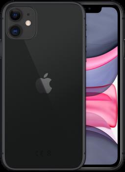 Мобільний телефон Apple iPhone 11 128 GB Black Slim Box (MHDH3) Офіційна гарантія