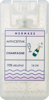 Набір антисептиків-спреїв для рук Mermade Champagne 16 мл х 5 шт. (5MRA0006S) (2000000206585)