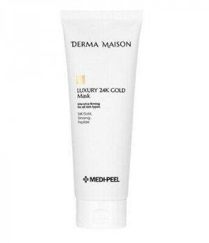 Салонная премиум-маска с коллоидным золотом и женьшенем MEDI-PEEL DERMA MAISON Luxury 24K Gold Mask 250 мл