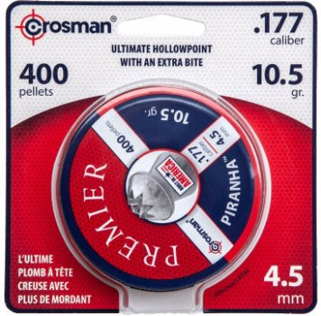 Кульки для пневматичних гвинтівок Crosman кал. 4.5 Piranha Point (LPPH7)