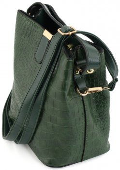 Женская сумка TRAUM 7236-16 Зеленая (4820007236167)