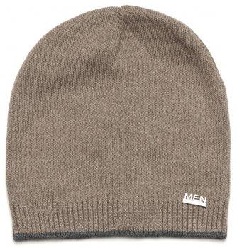 Демисезонная шапка Модный карапуз 03-00923 48-50 см Кофейная (4824126739233)