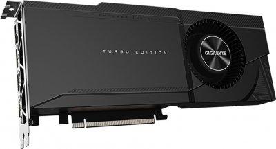 Gigabyte PCI-Ex GeForce RTX 3090 Turbo 24GB GDDR6X (384bit) (1695/19500) (2 х HDMI, 2 x DisplayPort) (GV-N3090TURBO-24GD)