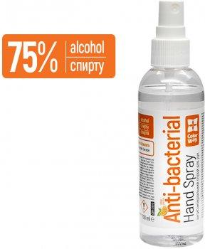 Спиртовий антисептик ColorWay Апельсин для дезінфекції рук 100 мл (CW-3912) (4823108605528)