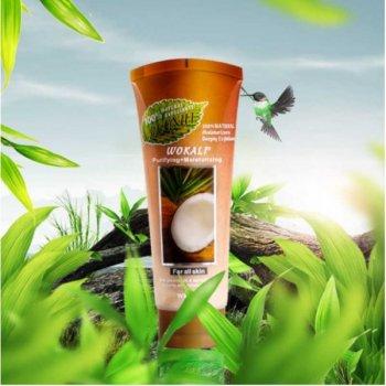 Зволожуючий скраб для обличчя Wokali Coconut, 120 мл (LT)
