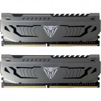 Модуль пам'яті для комп'ютера DDR4 16GB (2x8GB) 3400 MHz Viper Steel Patriot (PVS416G340C6K) (WY36dnd-255710)