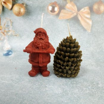 Набір Свічок Новорічний з 2 предметів в подарунковій упаковці 10112006