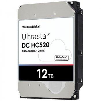 """Жорстку диск для серверів Wd 12TB 3.5"""" SAS 3.0 7200 256MB Ultrastar DC HC520 (HUH721212AL5204)"""