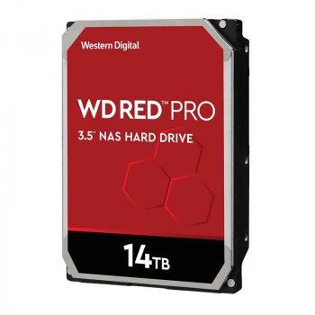 """Жорстку диск для серверів Wd 14TB 3.5"""" SATA 3.0 7200 512MB Red Pro NAS (141KFGX)"""
