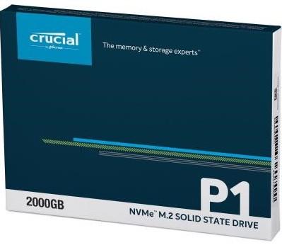 SSD-накопичувач MICRON M. 2 2280 2TB (CT2000P1SSD8)