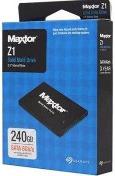 """SSD-накопичувач Seagate Maxtor Z1 2.5"""" SATAIII TLC (YA240VC1A001) (YA240VC1A001)"""