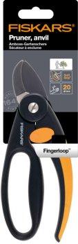 Контактний секатор з петлею для пальців Fiskars P43 (1001535/111430)