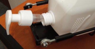 Дозатор безконтактний з ножною педаллю TEKNO-TEL EG 302