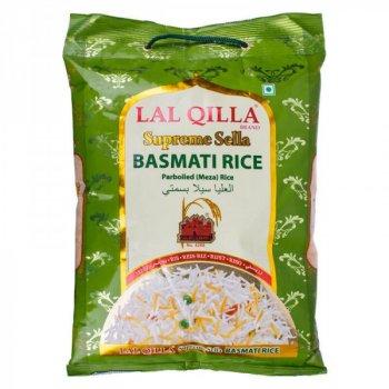 Рис басмати пропаренный Lal Qilla Supreme Sella basmati rice parboiled 5 кг