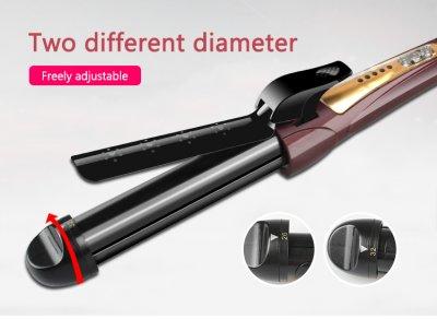 Плойка для волосся з регульованим діаметром Kemei JB-KM-8850