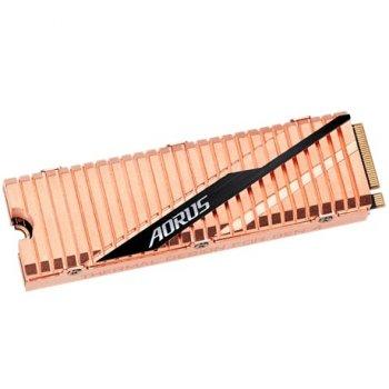 Твердотільний накопичувач SSD Gigabyte 2TB M. 2 AORUS NVMe PCIe 4.0 4x 2280 (GP-ASM2NE6200TTTD)