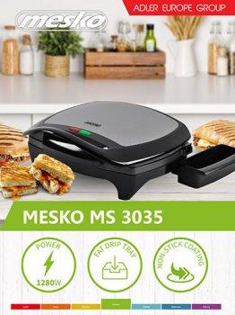 Гриль контактний Mesko MS 3035
