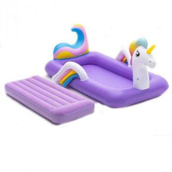 Дитячий надувний велюр-ліжко Bestway 67713