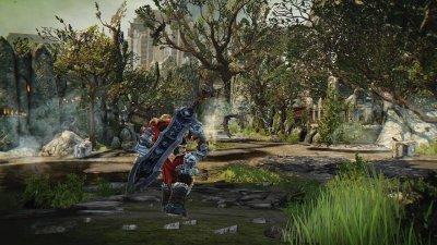 Darksiders Warmastered Edition (Switch, русская версия)