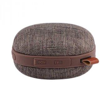 Портативна колонка бездротова акустика AWEI Y260 Bluetooth Speaker кави коричневий