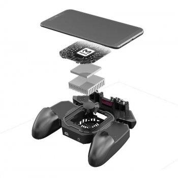 Игровые контроллеры Memo DL88 с радиатором охлаждения (геймпад триггеры курки для смартфона для PUBG)