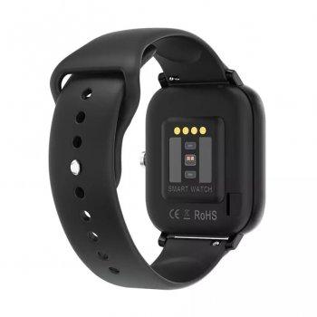 Смарт-годинник NO.1 DT36 Black (розмова, тонометр, пульсоксиметр)