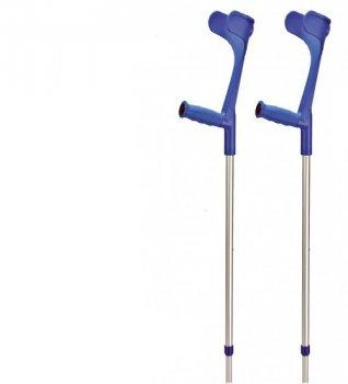 Подлокотный костыль OSSENBERG EXTRA STRONG мягкая рукоятка Размер XXL 99-119 см 230 DSKBL