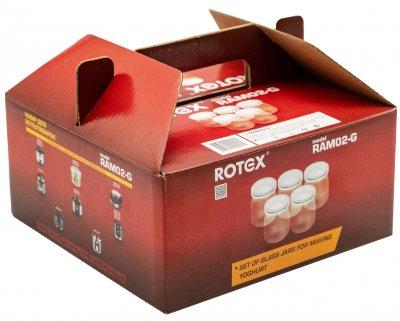 Баночки для приготовления йогурта ROTEX RAM02-G