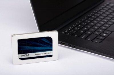 """SSD накопичувач 2.5"""" Crucial MX500 250GB SATA 3D TLC (CT250MX500SSD1)"""