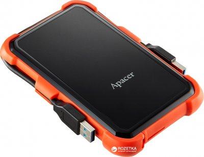 "Жорсткий диск Apacer AC630 1TB 5400rpm 8MB AP1TBAC630T-1 2.5"" USB 3.1 External Orange"