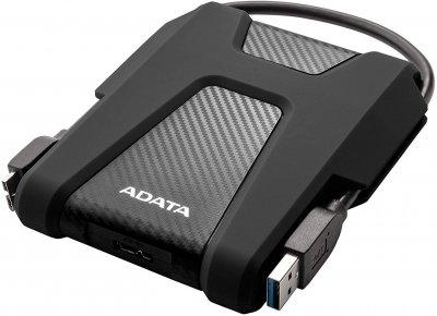 Жорсткий диск ADATA DashDrive Durable HD680 2 TB AHD680-2TU31-CBK 2.5 USB 3.2 External Black