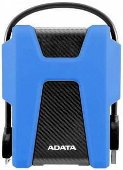 Жорсткий диск ADATA DashDrive Durable HD680 1 TB AHD680-1TU31-CBL 2.5 USB 3.2 External Black/Blue