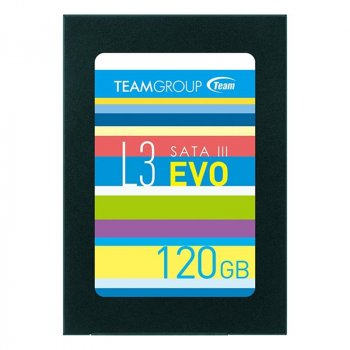"Накопичувач SSD 120GB Team L3 EVO 2,5"" SATAIII TLC (T253LE120GTC101)"